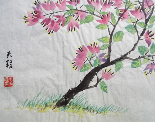 Chinese Painting Flower