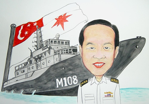 Caricature  Navy