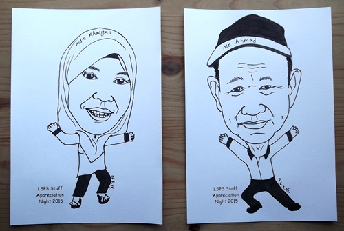 Caricature in Ink
