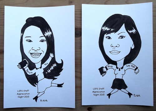 Caricature Individual Ink