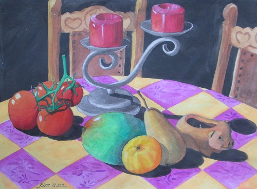 Water Colour Still Life 1