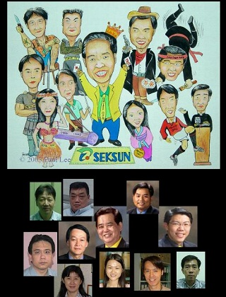 Caricature Art Gallery 10