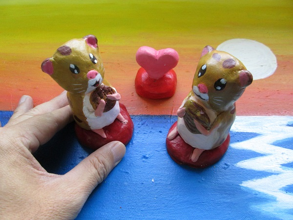 Clay models Hamsters