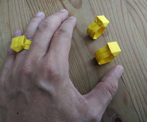 Origami Diamond Ring1