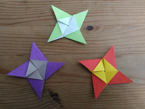 Origami Star Windmill