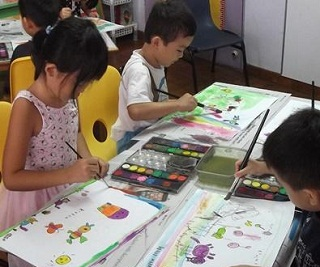 Foundation Art Class for kids age 4 to 10